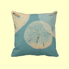 Sand Dollars Pillows by cabbageroses