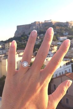 18 Top Round Engagement Rings ❤Round engagement rings are one of the most popular rings nowadays. The round cut is a classic and timeless diamond shape. See more: http://www.weddingforward.com/round-engagement-rings/ #wedding #engagement #rings
