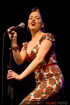 Imelda May. Love her style and voice! http://www.youtube.com/watch?v=jxj5wlXY9No&feature=relmfu