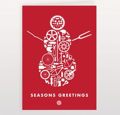 greeting cards design from 10 top illustrators - Holiday Christmas Cards