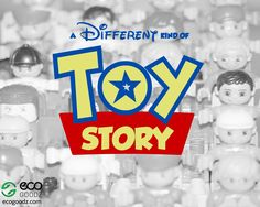 A Different Kind of Toy Story, a blog post by EcoGoodz, a used toy supplier in the USA