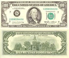 Ben Franklin Hundred Dollar Bill Glossy Poster Picture Photo Money Currency 482 Cash Money, Fake Money Printable, Printable Paper, Money Template, Coupon Template, Dollar Money, Dollar Bills, Federal Reserve Note, Money Notes