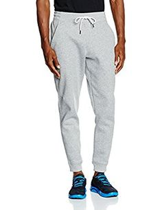 Under Armour Storm Rival Cotton Jogger - Pantalón para hombre, color gris, talla S