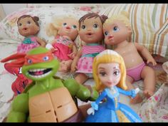 Baby Alive Princesa Sofia boneca Tartarugas Ninja Filme  Barbie Ken Hulk...