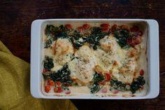 Mozzarellaa ja makuja - helpot broilerin rintafileet uunissa Chicken, Meat, Food, Essen, Meals, Yemek, Eten, Cubs