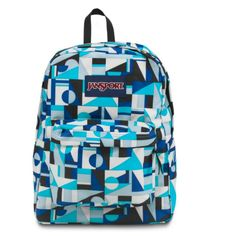 JANSPORT SUPERBREAK BACKPACK SCHOOL BAG - Mammoth Blue Shifter, $27.99