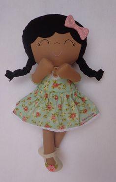 Essa é mais uma fofura que a amiga Leila fez para mim. http://www.fofurasbyleila.com.br/ Maria Flor é o seu nome. ♥ ♥ Um docinho.