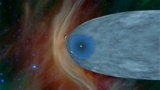 NASA's Voyager 1 spacecraft is officially the first human-made object to venture into interstellar space. The plasma wave science team determined Voyager 1 first entered interstellar space in August 2012.