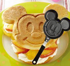 Mickey Pancakes? Oh yeah.