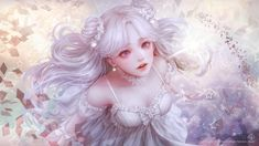 Woman white dress looking up beautiful beautiful angel only beauty anime wallpaper Flowers Instagram, When You Leave, White Dresses For Women, Thing 1, Desktop Pictures, Female Art, Art Girl, In This World, Fantasy Art