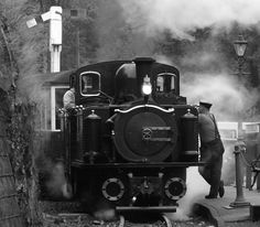 Welsh Highland Railway... starts about 25 minutes drive from us at Cadair View Lodge www.cadairviewlodge.co.uk