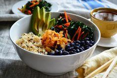 Macrobiotic Bowl by nourishtheroots #Salad #Healthy #Macrobiotic