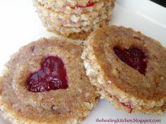 Raw Vegan Valentine Cookies from The Healing Kitchen #vegan #vegetarian