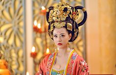"""48-year-old Kathy Chow outshines younger actresses in """"The Empress of China"""" Chinese female celebrities from Hong Kong"""