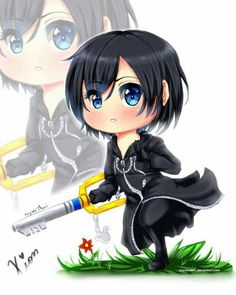 Chibi Xion from Kingdom Hearts: 358/2 Days