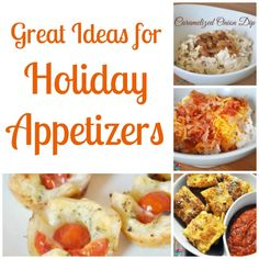 Great Ideas for Holiday Appetizers - The Love Nerds