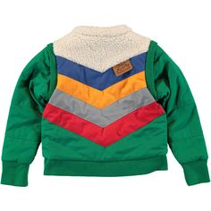 ESK 3 Way Reversible Jacket Ivy Green by Tootsa MacGinty - Junior Edition www.junioredition.com