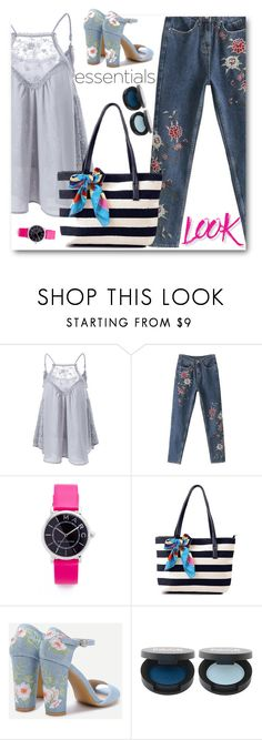 """""""Rosegal 12"""" by edy321 ❤ liked on Polyvore featuring Marc Jacobs and NYX"""
