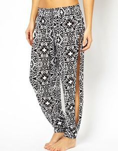 Image 4 of All About Eve Geo Tribe Print Beach Pants