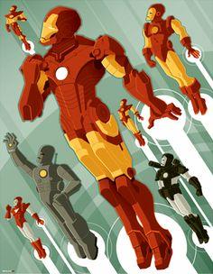 Misery minimalist movie poster Iron Man - Tom Whalen My Fellow Americans Iron Man Kunst, Iron Man Art, New Iron Man, Iron Men, Tom Whalen, Comic Book Characters, Comic Character, Comic Books, Character Ideas