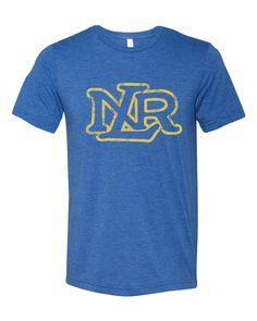 North Little Rock High School NLR Logo Tri Blend Crew Tee