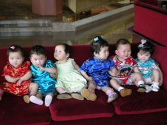 White Swan Hotel in Guangzhou, China Famous couch !  All adopted children get their pictures taken here before leaving for America or another country to their new FOREVER home!!!