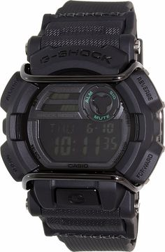 Casio Men's G-Shock GD400MB-1 Black Resin Quartz Watch -- Want to know more, click on the image.