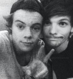 Louis and Harry. Not Larry.  Just Louis and Harry :)