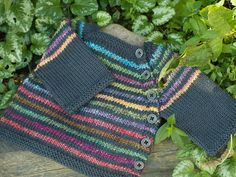 Ravelry: YarnHarlot's Puerperium Cardigan (free) Love the colors on this version