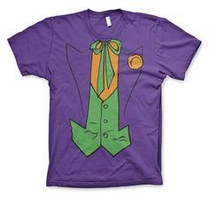 Koszulka męska Batman The Joker Suit. Tylko dla prawdziwych fanów! Sklep internetowy - sprawdź teraz!