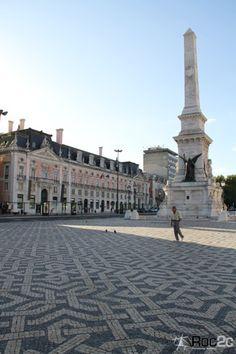 Praça dos Restauradores  Portuguese Cobbletone  Roc2c