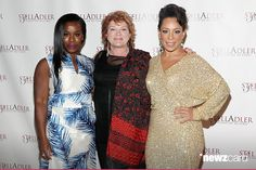 (L-R) Actresses Uzo Aduba, Kate Mulgrew and Selenis Leyva attend Stella By Starlight, The Stella Adler Studio Of Acting's 10th Annual Fundraising Gala on May 11, 2015 in New York City. (Photo by Astrid Stawiarz/Getty Images for Stella Adler Studio of Acting)