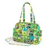 Vera Bradley Baby bag in Lime Up
