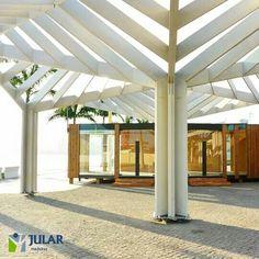 JULAR   Seja em Portugal ou no estrangeiro, temos as melhores soluções do mercado em construção com madeira. Hoje, partilhamos consigo o nosso projeto na Baía de Luanda. #arquitetura #madeira #decoração #architecture #home #design #treehouse #jular #housing #jularmadeiras