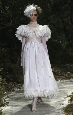 Karl Lagerfeld Supports Gay Marriage In Lesbian Couture