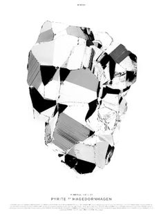 pyrite2 poster | Hagedornhagen | designlemonade.com