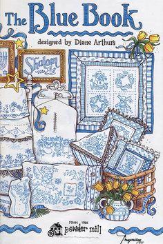 Gallery.ru / Фото #1 - Blue Book (гладь) - barbariska76