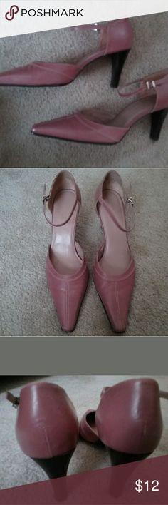 "Worthington Womens Shoes Mauve - Size 10 - 3 1/2"" Heels -Stylish/Nice - Lightly Used - For Work/Church/Play - Something special for any closet Worthington Shoes Heels"