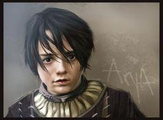 Arya Stark by CoolishinColor (500×369)