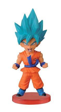 Banpresto Dragon Ball Z 2.8-Inch Super Saiyan God Super Saiyan Goku Wo – Galactic Toys & Collectibles
