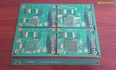 8 layer PCB with impdedance control and impedance test coupen