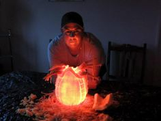 Aliens Pumpkin from @clareandtribe