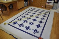 """""""How to Block a Quilt"""" (from Quilt Me Happy!)"""