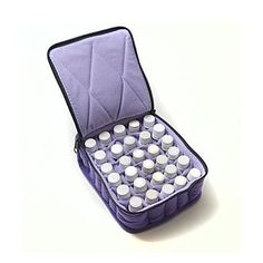 30 Bottle Essential Oil Carrying Case- Soft with Zipper - $24.95 : Plant Therapy Essential Oils, The finest 100% pure, undiluted, therapeutic grade essential oils at rock bottom prices.