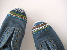 Love these shoes from c.r.a.f.t., a great use for our Painters
