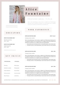 Discover recipes, home ideas, style inspiration and other ideas to try. One Page Resume Template, Free Business Card Templates, Modern Resume Template, Creative Resume Templates, Cv Template, Resume Tips, Resume Cv, Creation Cv, Portfolio Web