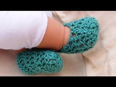 Summer Crochet Baby Booties by Crochet Hooks You