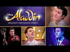 Nick Pitera's One-Man Tribute to Aladdin on Broadway - YouTube. I love this guy's talent!