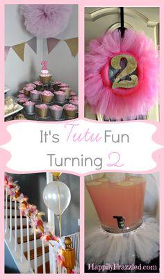 Tutu Party | HappilyFrazzled.com