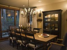 i like this table more farmhouse in style casual dining room - Casual Dining Room Ideas